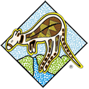 kangaroo valley fudge house logo