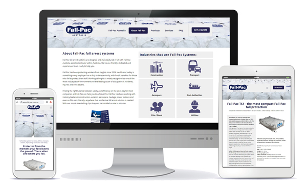 fall-pac responsive website