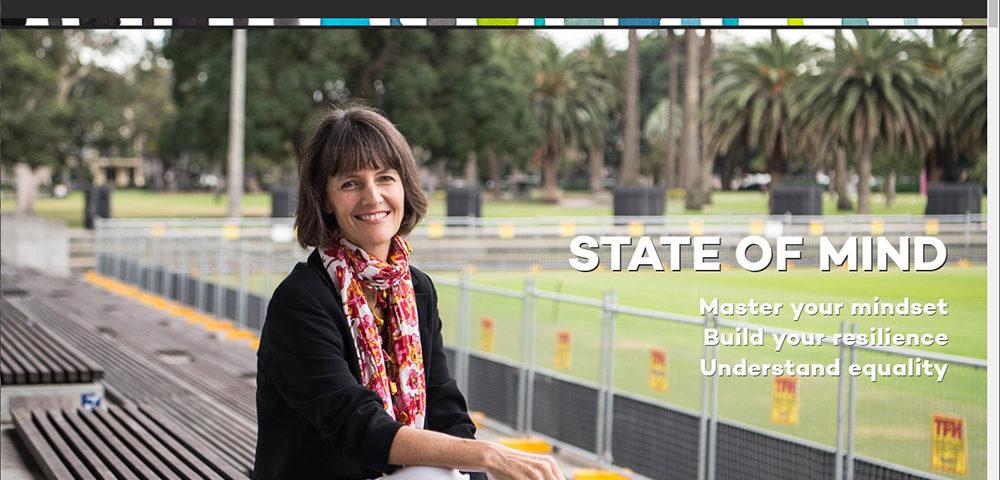 stateofmind.com.au website viewed on large screen