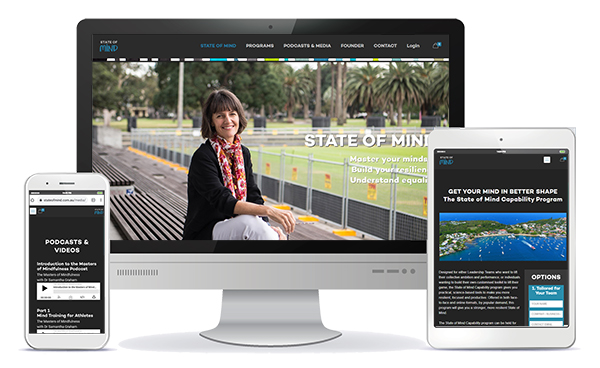 state of mind responsive website